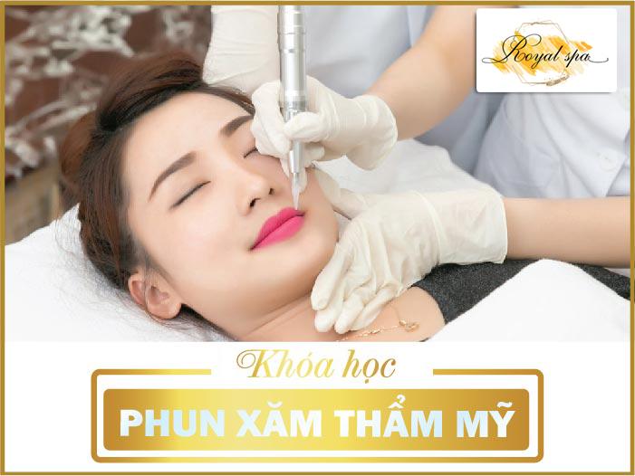 Khóa học phun xăm thẩm mỹ tại Nam Định