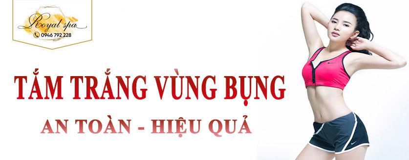 Tắm trắng vùng bụng tại Nam Định