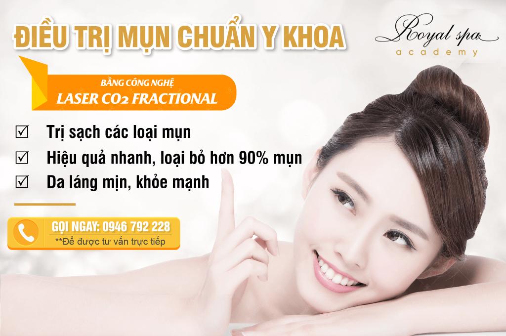 Điều trị mụn tại Nam Định ở đâu tốt nhất