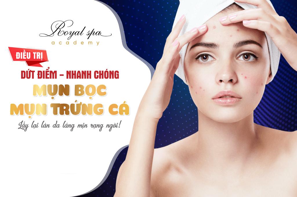 Điều trị mụn bọc tại Nam Định
