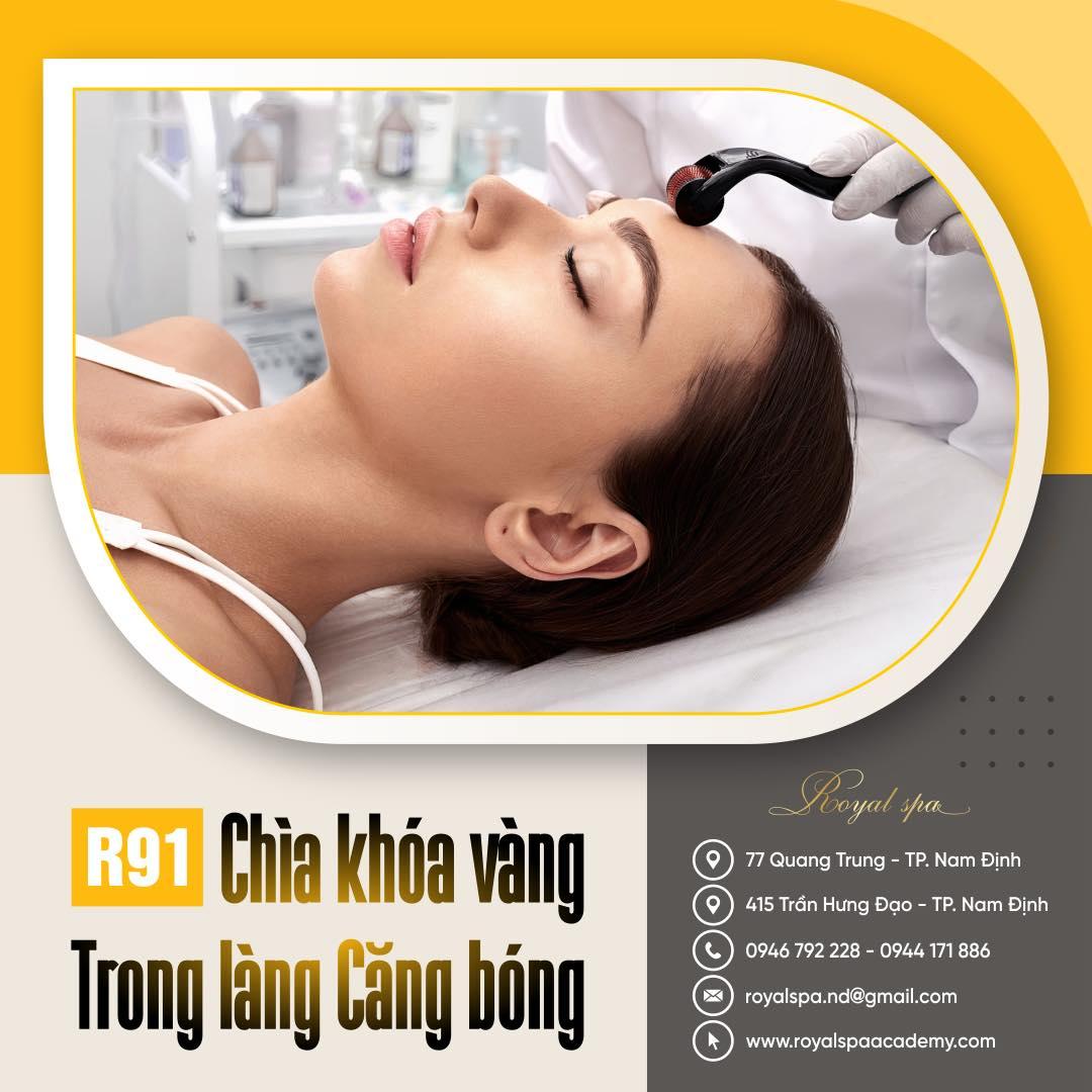 Dịch vụ căng bóng da mặt tại Nam Định