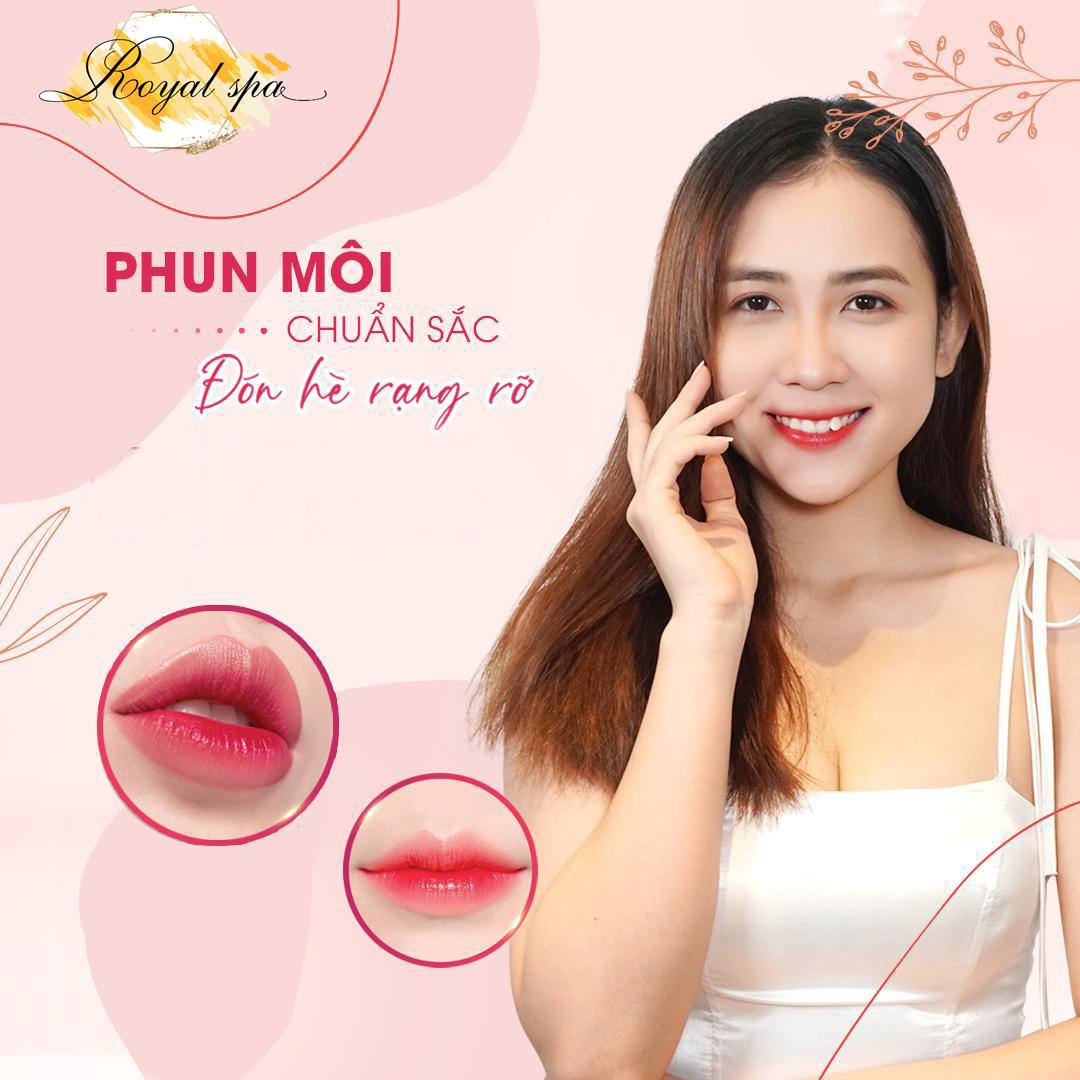 Địa chỉ phun môi tại Nam Định